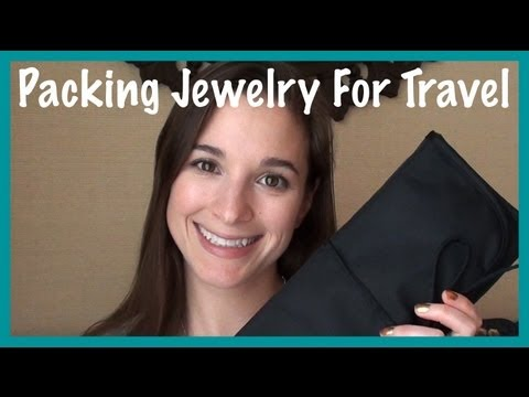 Packing Jewelry for Travel