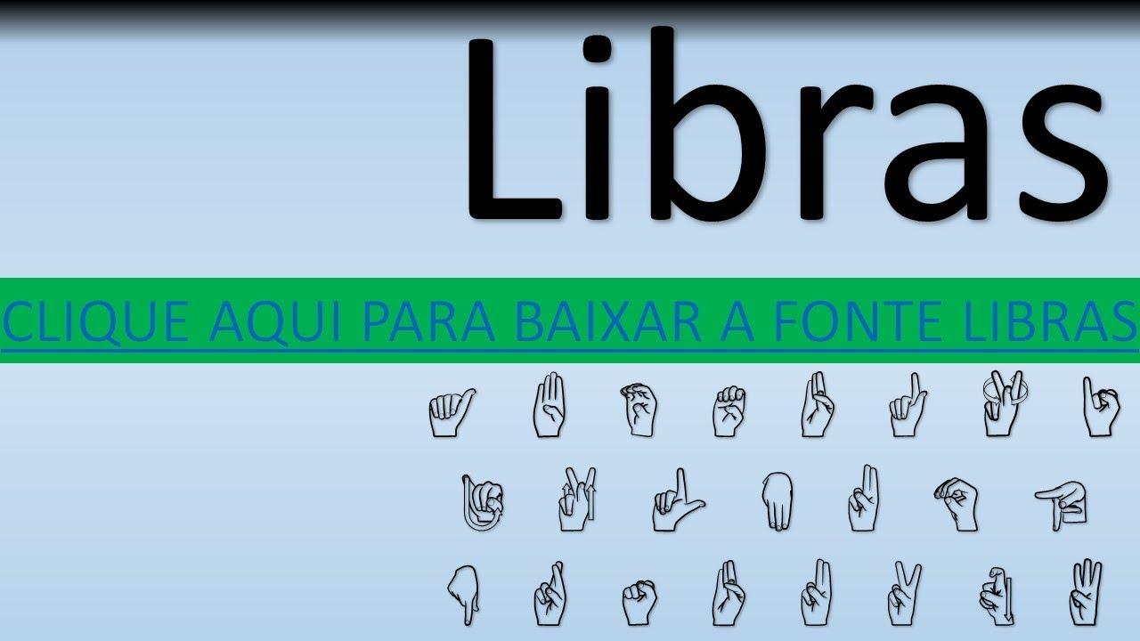 FONTE LIBRAS KIDIMAIS