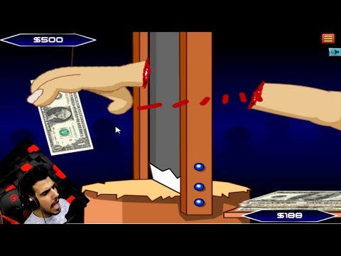 تقطع يديك وتصير مليونير 😨😱 هل تخاطر ؟
