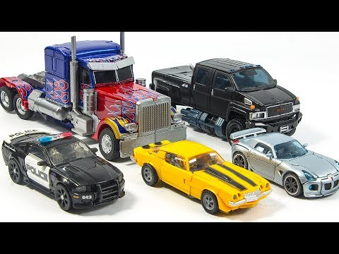 Transformers Movie Optimus Prime Ironhide Bumblebee Jazz Barricade Vehicles Car Robots Toys