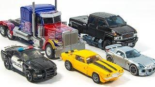 Transformers Movie Optimus Prime Ironhide Bumblebee Jazz Barricade Vehicles Car Robots Toys