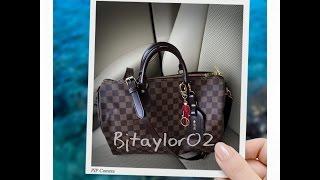 Louis Vuitton Speedy B 35 update / What's in My Bag