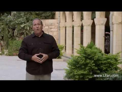 38- مشاهد من داخل كنيسة الزيارة حيث زارت العذراء أليصابات
