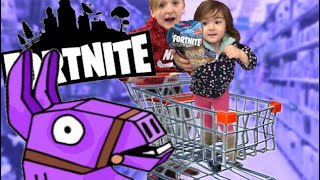 FORTNITE TOYS HUNTING ROUND 3 Shopping for Fortnite Toys @ Walmart Target Gamestop + BeyBlade turbo