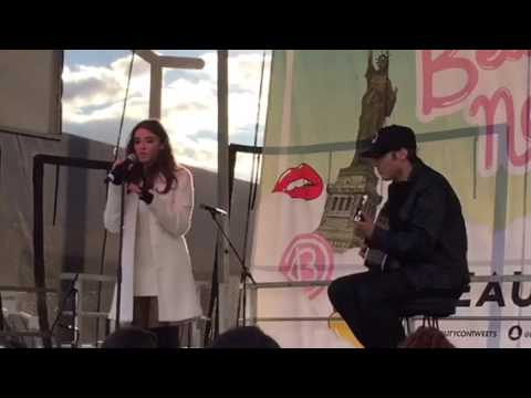 Madison Beer Singing Live At BeautyCon NYC 2015