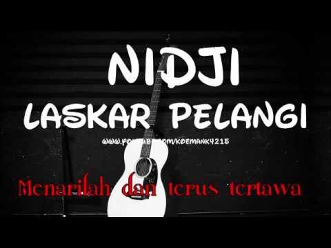 Nidji   Laskar Pelangi Full Karaoke   Lirik Musik Instrumental