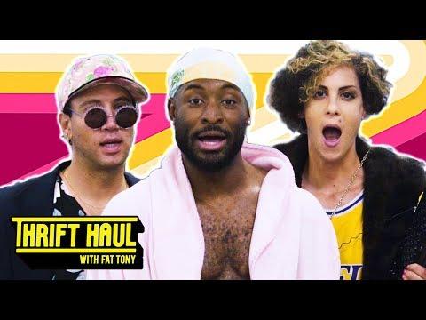 Dressing Like a SoundCloud Rapper ft. Marcella Arguello | Thrift Haul