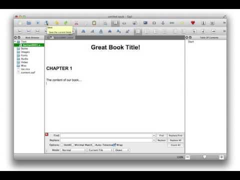 How To Make An Ebook | Sigil Ebook Creation Tutorial