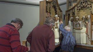 Vier bijzondere altaarluiken verhuizen naar de kerk in Gaanderen