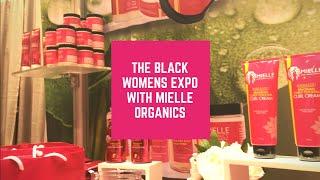 Random Vlog| Black Women's Expo| Modeling for Mielle Organics