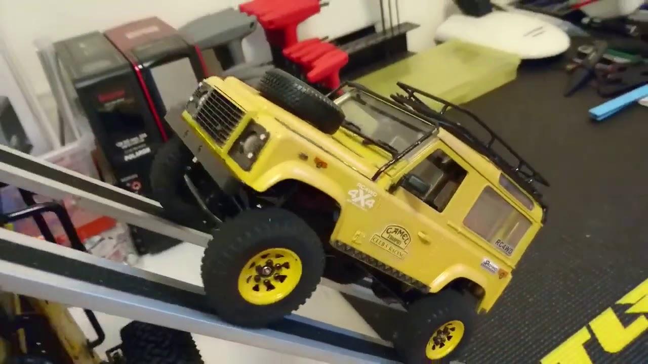 ▶Club 5◀ Dual / Twin Motor Mount Kit - RC4WD 1/18 G2 D90 Body