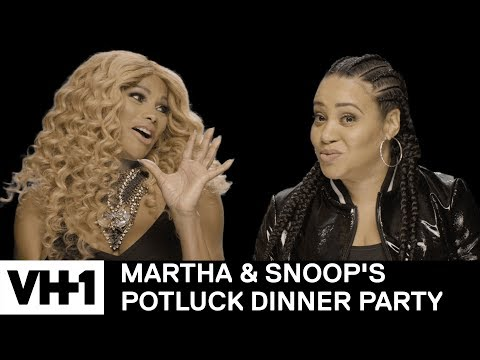 SaltNPepa Pick the Best Snoop Dogg Persona to Roll Up With  Martha & Snoop's Potluck Dinner Party