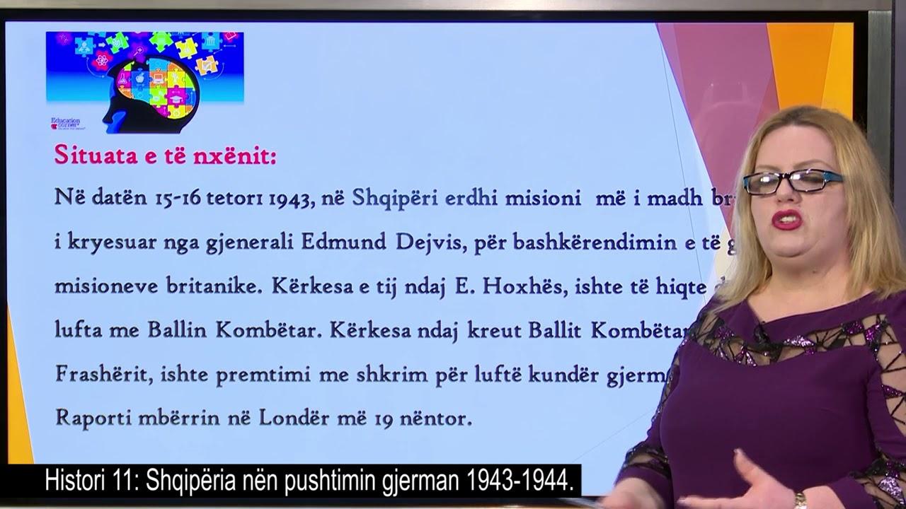 Download Histori 11 - Shqipëria nën pushtimin gjerman 1943-1944.