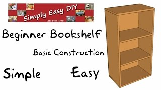 Basic Bookshelf Part 1 Of 2 - Beginners Guide