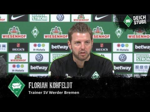 Werder-Pressekonferenz vor dem Hannover-Spiel