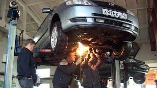 Замена втулок стабилизатора Corolla E120