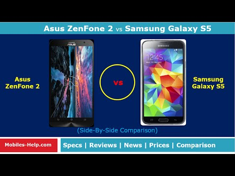 Asus ZenFone 2 vs Samsung Galaxy S5 (Side-By-Side Comparison)