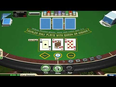 Basic Strategy for 3 Card Poker