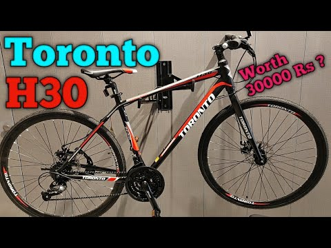 Toronto H30 Hybrid bicycle Quick Review | Best hybrid cycle under 30000 rs |