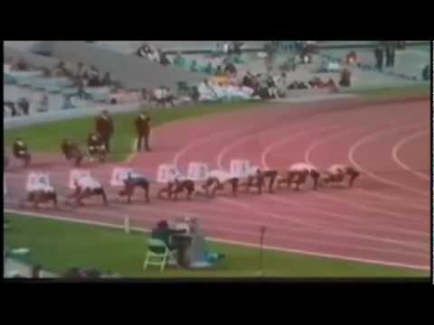 Download 1968 Mexico Olympic Men's 100m final - Olimpiadas de México 1968 final 100 metros lisos masculinos