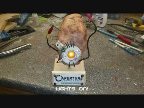 Glados Potato Model From Portal 2 Youtube
