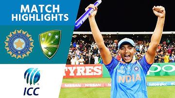 India Win U19 World Cup! | India vs Australia | U19 Cricket World Cup 2018 FINAL - Highlights