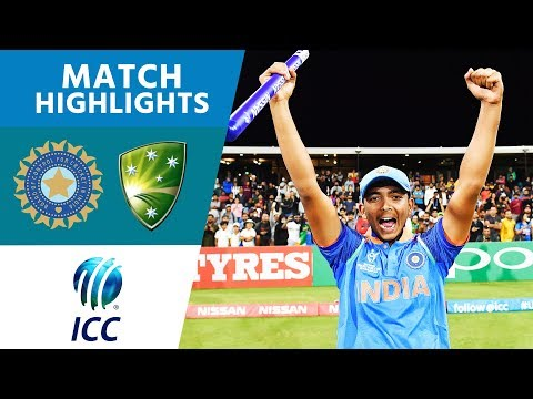 India Win U19 World Cup! | India vs Australia | U19 Cricket World Cup 2018 FINAL - Highlights