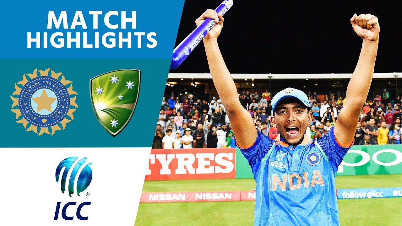 Download India Win U19 World Cup! | India vs Australia | U19 Cricket World Cup 2018 FINAL - Highlights