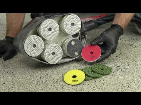 DIY -  How to Polish Concrete with the WerkMaster Scarab - Floor Grinder