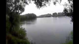 Рыбалка ультралайтом по озерам Чернигова Земснаряд подкова(Шестовица)часть 1