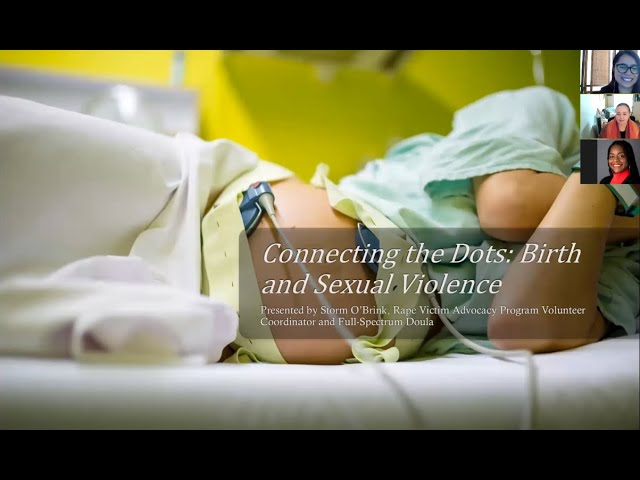 Connecting the Dots: Birth and Sexual Violence - Part 1