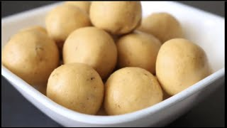 Easy Diwali sweets recipe : Perfect Besan ladoo/laddu (Quick and Easy Besan Ladoo)
