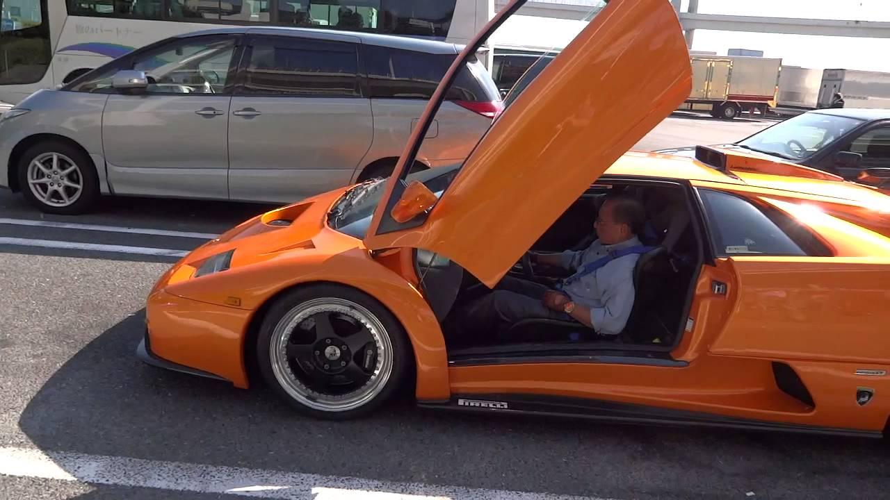 Hd Lamborghini Diablo Gt In Daikoku Yokohama Japan 大黒 Youtube