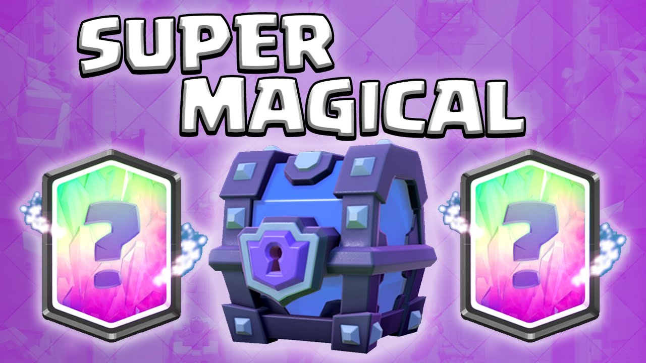 SUPERMAGICAL CHEST OPENING ★ LEGENDARY?! • Clash Royale [deutsch ...