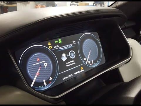 Removing / Upgrading Speedo Instrument Clocks On Range Rover Sport L494 .