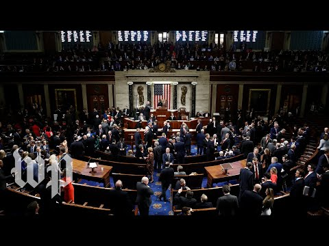 Watch: House final vote on articles of impeachment (FULL LIVE STREAM)
