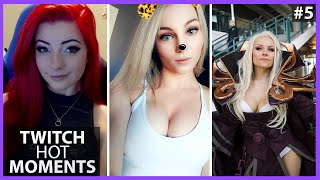 """HOTTEST """"JUST CHATTING"""" MOMENTS #5 (THICC TWITCH STREAMERS) 🍑🍑"""