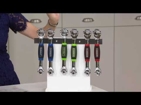 EZ Tools Set Of 2 48-in-1 Socket Wrenches With Magnet On QVC