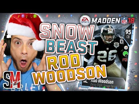 Limited Rod Woodson & Legends Brian Urlacher Harold Carmichael - Madden NFL 18 Pack Opening