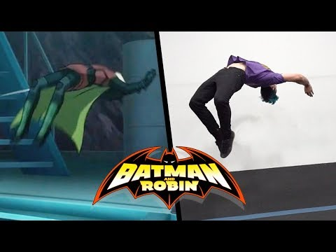 Batman VS Robin Stunts In Real Life (Parkour, Tricking)