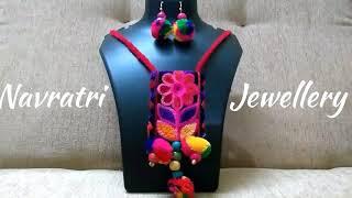 DIY | Traditional Navratri Jewellery | Handmade Jewellery