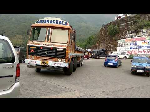WAYANAD GHAT | HEAVY VEHICLES TAKINGS SHARP TURN