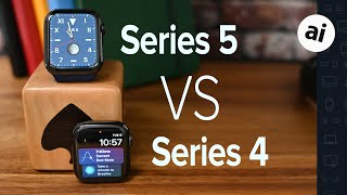 Gambar cover Compared: Apple Watch Series 5 VS Apple Watch Series 4