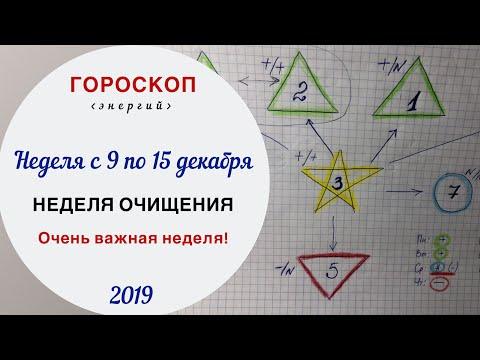 Неделя очищения | Гороскоп на неделю с 9 по 15 декабря 2019