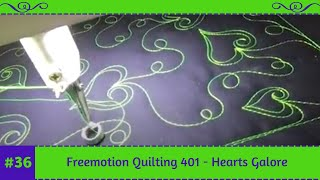 Freemotion Quilting Designs by Tracey Russell. Simple and forgiving...