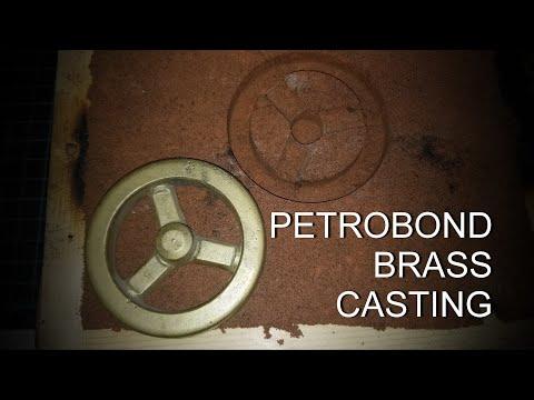 Casting Brass using Petrobond