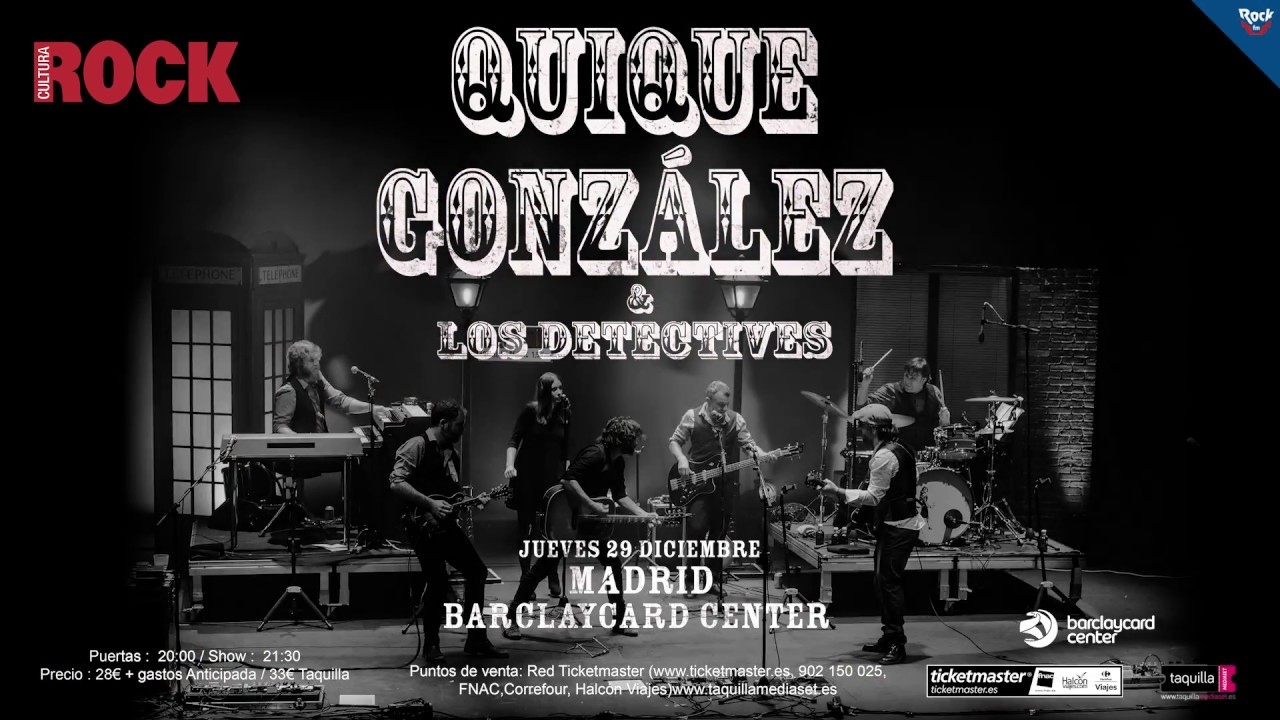 Quique gonz lez los detectives en madrid el 29 de for Quique gonzalez madrid