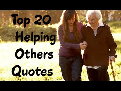 Helping Others Quotes Adorable Top 48 Helping Others Quotes Sayings Its Benefits YouTube