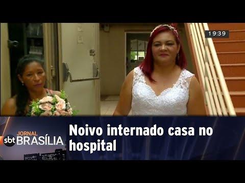 Casamento no hospital|Jornal do SBT Brasília 16/05/2018
