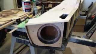Jeep Punisher Edition Ep. 44- Jl Audio 8w7 Custom Jeep Jkx Box Assembled Part 3
